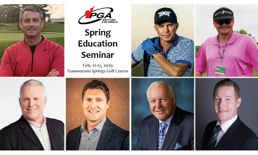 2019 PGA of BC Spring Education Seminar