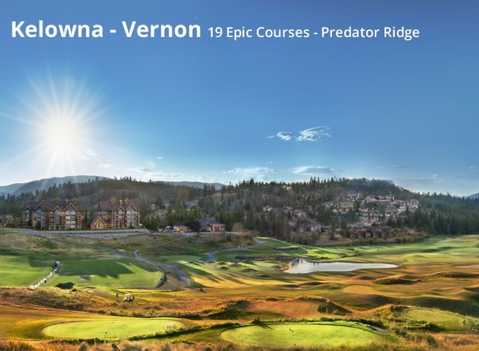 Golf in BC's Okanagan Valley